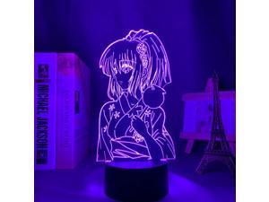 3d Led Night Light Anime To Love Ru for Bedroom Decor Light Manga Birthday Gift for Him Momo Belia Deviluke Led 3d Lamp