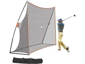 LOYALHEARTDY Golf Practice Set,Golf Batting Net With Suitcase, For Hitting Training