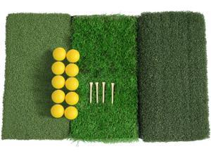 LOYALHEARTDY Golf Percussion Mat Training Ball Nail Indoor Golf Putter Auxiliary Training Set Portable Mat Mini Golf Practice Training Aid