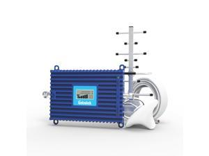 Lintratek 4G LTE Band 66 Cell Phone Signal Booster | 1700/2100MHz AWS Band 66/4 Cellular Amplifier for T-Mobil, AT&T, Sprint, Verizon, Mint Mobile, MetroPCS U.S. Carriers for Home/Office AGC Function