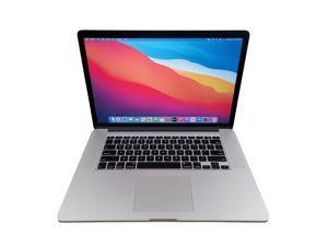 """Apple Laptop 15.4"""" MacBook Pro (Mid-2015) MJLU2LL/A Intel Core i7 4th Gen 4980HQ (2.80 GHz) 16 GB Memory 512GB SSD Mac OS Big Sur"""
