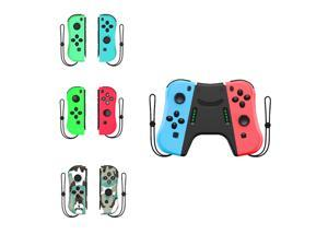 POWKIDDY Left Right Joy Controller For Switch Host Console Grip Bluetooth Wireless Video Game Vibration Gamepad Handle Joystick