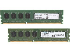 Crucial 16GB (2 x 8GB) 240-Pin DDR3 SDRAM DDR3L 1600 (PC3L 12800) Desktop Memory Model CT2K102464BD160B