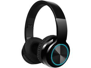 LUUSAMA Active Noise Cancelling Headphones Bluetooth Wireless Headphones Over Ear,  30 Hours Playtime for Travel/Work, Black