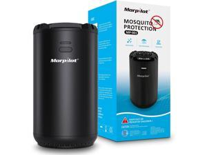 Morpilot Rechargeable Mosquito Repeller, Portable rechargeable, Includes 72 Hr Mosquito Repellent Refill, No Spray, No Candle or Flame mosquito repeller / DEET Alternative