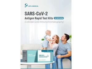 SARS-CoV-2, At Home-COVID-19 Antigen Rapid Test Kit, Result in 15-20 minutes (Colloidal Gold Immunochromatography)-5PCS