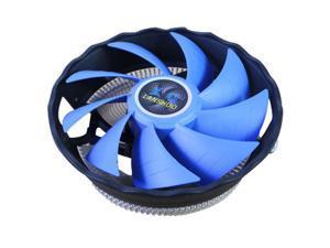 120mm CPU Air Cooler Fan, Dual Heat Pipe Mute Desktop Computer Host CPU Cooling Fan, CPU Cooling System Components, Blue, 1 Pcs