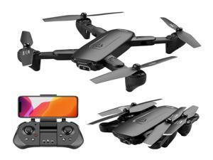 4DRC 4DF6 GPS Drone with 4K HD Camera for Adults,5Ghz FPV Live Video camera RC Quadcopter, 60mins Flight Time,Follow Me,Auto Return Home, Waypoints,Optical Flow, Headless Mode,Carrying Case