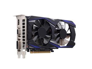 GTX 1050 Ti ,4GB GDDR5 128-bit Gaming Graphic Card phics Card,Low Noise Video Memory Card,Compatible with Interface for HDMI/VGA/DVI/PCI-E,750 Core 900MHz Frequency