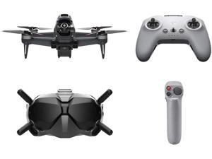 DJI FPV Combo with Motion Controller - First-Person View Drone Quadcopter UAV with 4K Camera, S Flight Mode, Super-Wide 150° FOV, HD Low-Latency Transmission, Emergency Brake and Hover