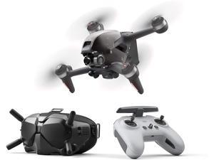 DJI FPV Combo - First-Person View Drone UAV Quadcopter with 4K Camera, S Flight Mode, Super-Wide 150° FOV, HD Low-Latency Transmission, Emergency Brake and Hover