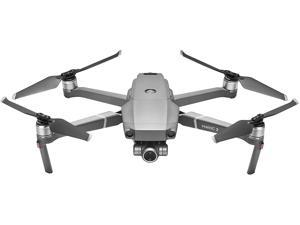 "DJI Mavic 2 Zoom - Drone Quadcopter UAV with Optical Zoom Camera 3-Axis Gimbal 4K Video 12MP 1/2.3"" CMOS Sensor, up to 48mph, Gray"