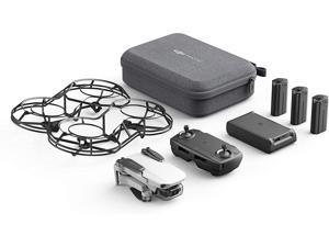 DJI Mavic Mini Combo - Drone FlyCam Quadcopter UAV with 2.7K Camera 3-Axis Gimbal GPS 30min Flight Time, less than 0.55lbs, Gray
