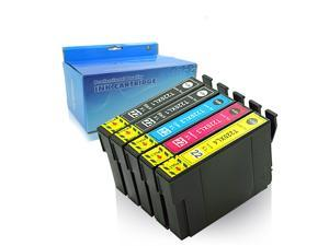 Oyate Compatible Ink Cartridge Replacement for 220 220XL Work with Workforce WF-2630 WF-2650 WF-2660 WF-2760 WF-2750 XP-320 XP-420 (2*Black, 1*Cyan, 1*Magenta, 1*Yellow, 5-Pack)