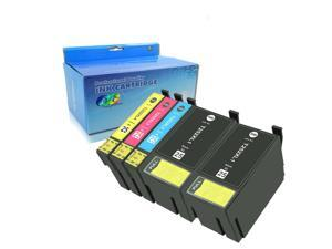 Oyate 252XL Compatible for Epson 252 252XL Ink Cartridge Use in Epson Workforce Wf-3640 Wf-7610 Wf-3620 Wf-3630 Wf-7620 Wf-7110 Wf-7710 Wf-7720 Wf-7210 (2BK/1C/1M/1Y) 5 Pack