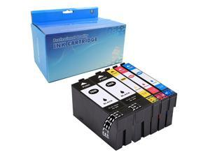 Oyate High Yield Compatible ink Cartridge 702 702XL E-702XL T-702XL for Epson WorkForce Pro WF-3720 WF-3725 All-in-One Printer  (2 Black, 1 Cyan, 1 Magenta, 1 Yellow 5PK)