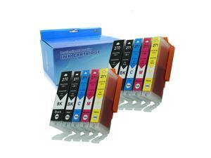 Oyate Compatible Ink Cartridge Replacement for PGI 270 XL CLI 271 XL High Yield for PIXMA MG5720,5721,5722,6820,6821, 6822,7720,TS5020/6020/8020/9020 (2PGBK 2BK 2C 2M 2Y 10PK)