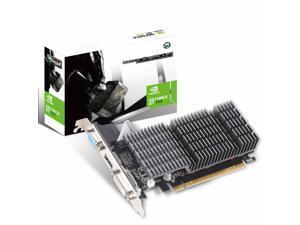 MAXSUN NVIDIA GEFORCE GT 710 2GB Video Graphics Card GPU, Support DirectX 12 OpenGl 4.5, Low Profile, Low Consumption, VGA, DVI-D, HDMI, HDCP, Silent