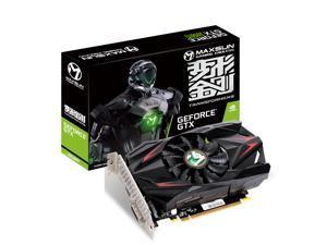 MAXSUN NVIDIA GEFORCE GTX 1050Ti Transformer ITX 4G Video Display Graphics Card GPU 4GB GDDR5, Mini ITX Design, DisplayPort, HDMI, DVI-D, Single Fan Cooling System