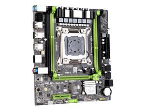 X79M-S2.0 ATX Motherboard, Support LGA 2011 With 4*DDR3 Memory Slots, SATA2.0, M.2, PCI-E 4X, Gigabit Adaptive Network Card And USB2.0, 251*190mm, black