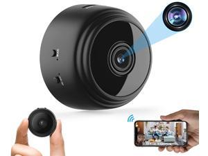 32GB Mini HD 1080P Wireless Hidden Camera,Home WiFi Remote Security Cameras, Smart Motion Detection ,Remote Playback, Night Vision Spy Camera for iPhone Android Video Nanny Surveillance