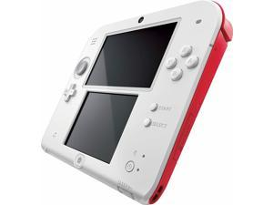 Nintendo 2Ds Scarlet Red White 3Ds Ds Console Factory  Like Mint