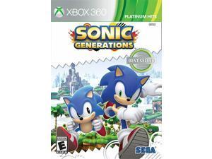Sonic Generations - Microsoft Xbox 360 [Sega Modern And Classic Adventure]