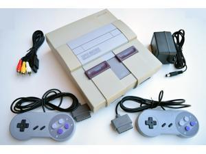 Super Nintendo Snes Console Sns-001 Video Game System Complete