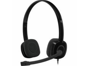 Logitech Lightweight Stereo Headphones H151 With Adjustable Headset
