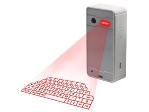 Laser Keyboard, Laser Projection Keyboard,Virtual Wireless Bluetooth Portable Projection Keyboard Ideal Compatible Accessory for PC Smart Phone Digital Typer Table