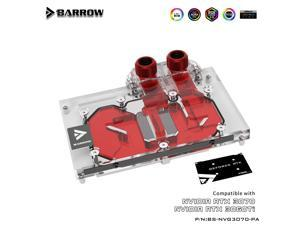 Barrow 3070 3060ti GPU Water Block for NVIDIA Founder Edition RTX3070 3060ti, GPU Cooler, PC Water Cooling, BS-NVG3070-PA