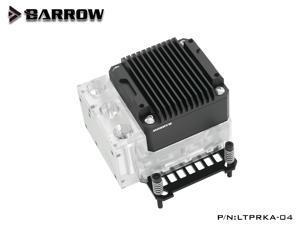 BARROW CPU Block Pump Integrated combo,For AMD AM4 AM3, 17W PWM Intelligent Pump, LTPRKA-04