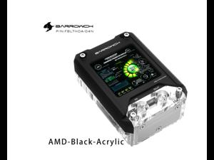 Barrowch FBLTHDA-04N Multifunction CPU Water Block With HDMI Display 1440*1440px 2.9-inch For AMD Platform