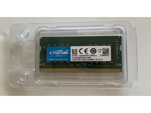 Crucial 16GB DDR4 2666 MHz PC4-21300 SODIMM 260-Pin Laptop Memory CT16G4SFRA266