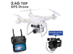 Folding drone-Beginners Can use-Leisure Toys-101 GPS-First-Person View Drone UAV Quadcopter With 4K Camera,It Has a Remote Control Distance of 500 Meters