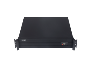 Mining Machine Chassis-Cryptocurrency Mining-Miner-2U 400IPC Box 2U Rack-Type Industrial Server Box,Compatible With 2U,1U Power Supply EATX Large Board-Support Bitcoin,Dogecoin,Ethereum