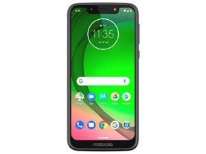 "Motorola Moto G7 Play Smartphone | XT1952 T-Mobile Unlocked (Revvlry) 5.7"" HD+ LCD Touchscreen | 32GB + 2GB RAM | 3,000mAh Battery | 13MP Camera - Black"