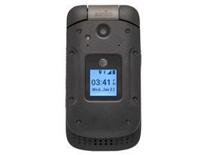 Sonim XP3 Rugged Flip Phone (AT&T Unlocked) 810G Military Grading Certification   8GB + 1GB RAM   Removable Battery   USB Type-C   Enhanced PTT (XP3800) - Black