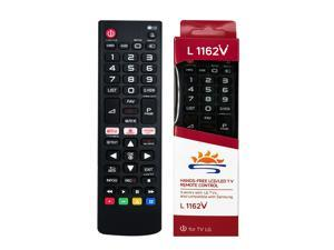 L1162V tv remote for LG also can be for Samsung LCD/LED TV with more compatible models
