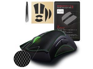 [Grip Upgrade] Hotline Games 2.0 Plus Mouse Anti-Slip Grip Tape for Razer DeathAdder V2 Gaming Mouse, Professional Mice Upgrade Kit,Sweat Resistant,Cut to Fit,Easy to Use