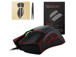 [Better Grip] Hotline Games 2.0 Mouse Anti-Slip Grip Tape For Razer Deathadder V2 Mini Gaming Mouse, Professional Upgrade Kit,Sweat Resistant,Cut to Fit,Easy to Use