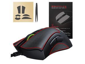 [Better Grip] Hotline Games 2.0 Mouse Anti-Slip Grip Tape For Razer Deathadder V2  Gaming Mouse, Professional Upgrade Kit,Sweat Resistant,Cut to Fit,Easy to Use