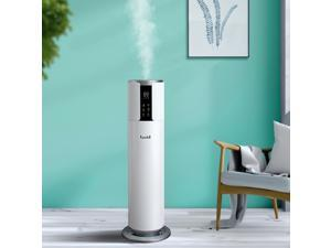 Humidifiers for Large Room, Top Fill, 2.1Gal/8L Large capacity, Quiet Cool Mist Ultrasonic Humidifiers for Bedroom, Runs up to 24 Hours, Auto Shut-off, Easy to Clean, UV Sterilization Light