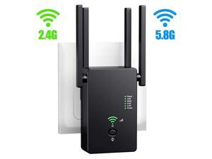 1200Mbps 5Ghz WiFi Repeater Wireless Wifi Extender 802.11N Long Range Wi-Fi Amplifier Wi fi Signal Booster 2.4G Wifi Repeater