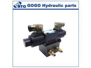 solenoid operation hydraulic directional valve manifold blocks DSG-01 DSG-02 DSG-03 3C2 3C3 3C4 3C60 DC24V AC220V DC12V