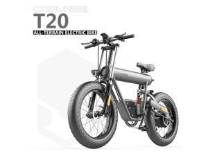 KAFEIDI 20AH 500W Variable Speed Electric Bicycle Snow Moped ATV Lithium Bike Off-road Mountain Bike Motorcycle