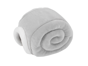 Furrytail Little Snail Cat Bed for Indoor Cats, Cat Beds for Indoor Cats or Small Dogs, Pink