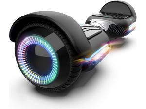 GYROOR Swift T580 Hoverboard Self Balancing Hoverboard with Music Speaker LED Lights, 6.5 inch Two-Wheel Hoverboard with UL2272 Certificated