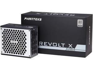 Phanteks PH-P1200PS 80+ Platinum - Built-in Power Splitter 1200W Fully Modular Design Dual System Support Power Supply