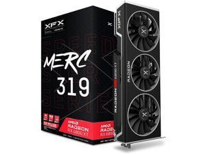 XFX Speedster MERC319 AMD Radeon RX 6900 XT Ultra Gaming Graphics Card with 16GB GDDR6, HDMI 2,1, 2xDP, USB-C, AMD RDNA 2 RX-69XTACUD9
